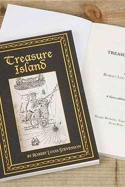 Personalised Treasure Island Book
