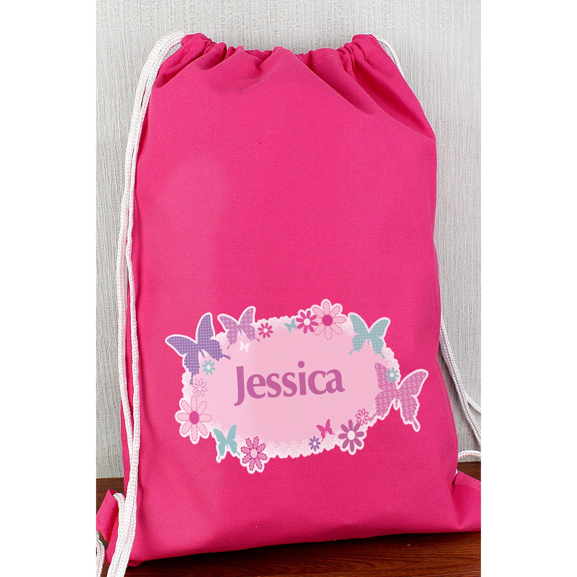 Image of Personalised Butterfly PE Bag