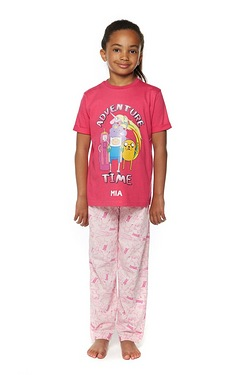 Girls Personalised Adventure Time Pyjamas