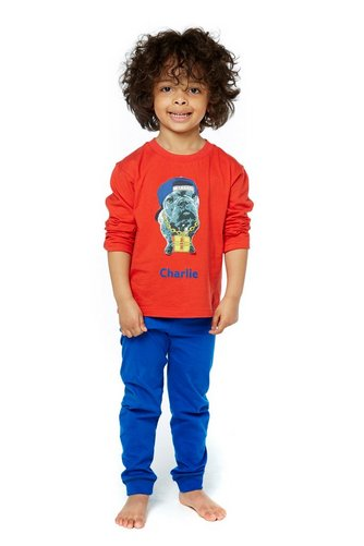 c2ec7586d2f5 Boys Personalised Bulldog Pyjamas