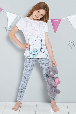 Girls Personalised Me To You Pyjamas