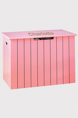 Personalised Panelled Toy Chest