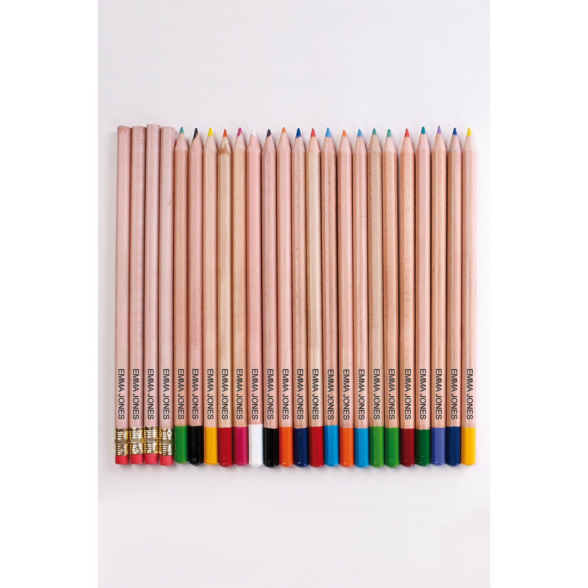 Image of Pack of Personalised Mixed Pencils