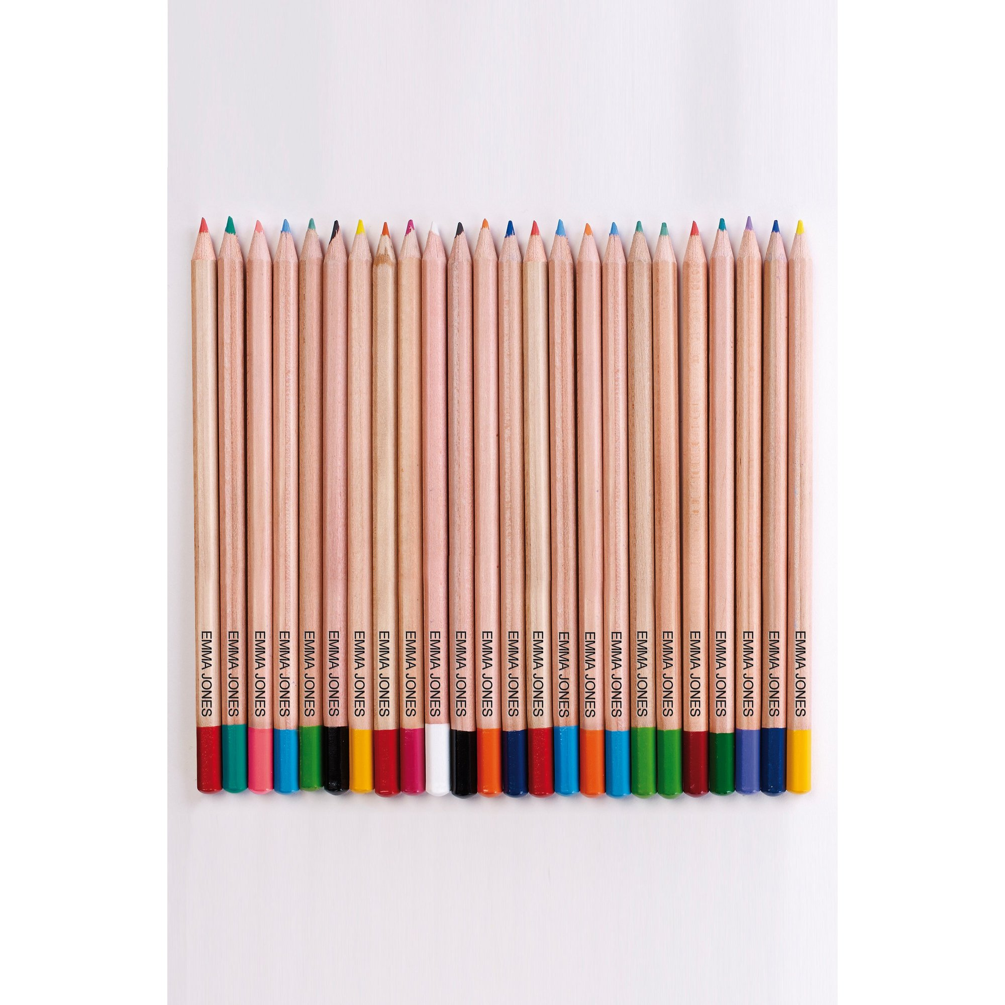 Image of Pack of Personalised Coloured Pencils