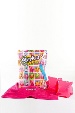 Shopkins Personalised Swimbag Set