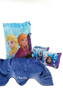 Disney Frozen Personalised Swimbag Set