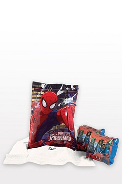 Spider-Man Personalised Swimbag Set