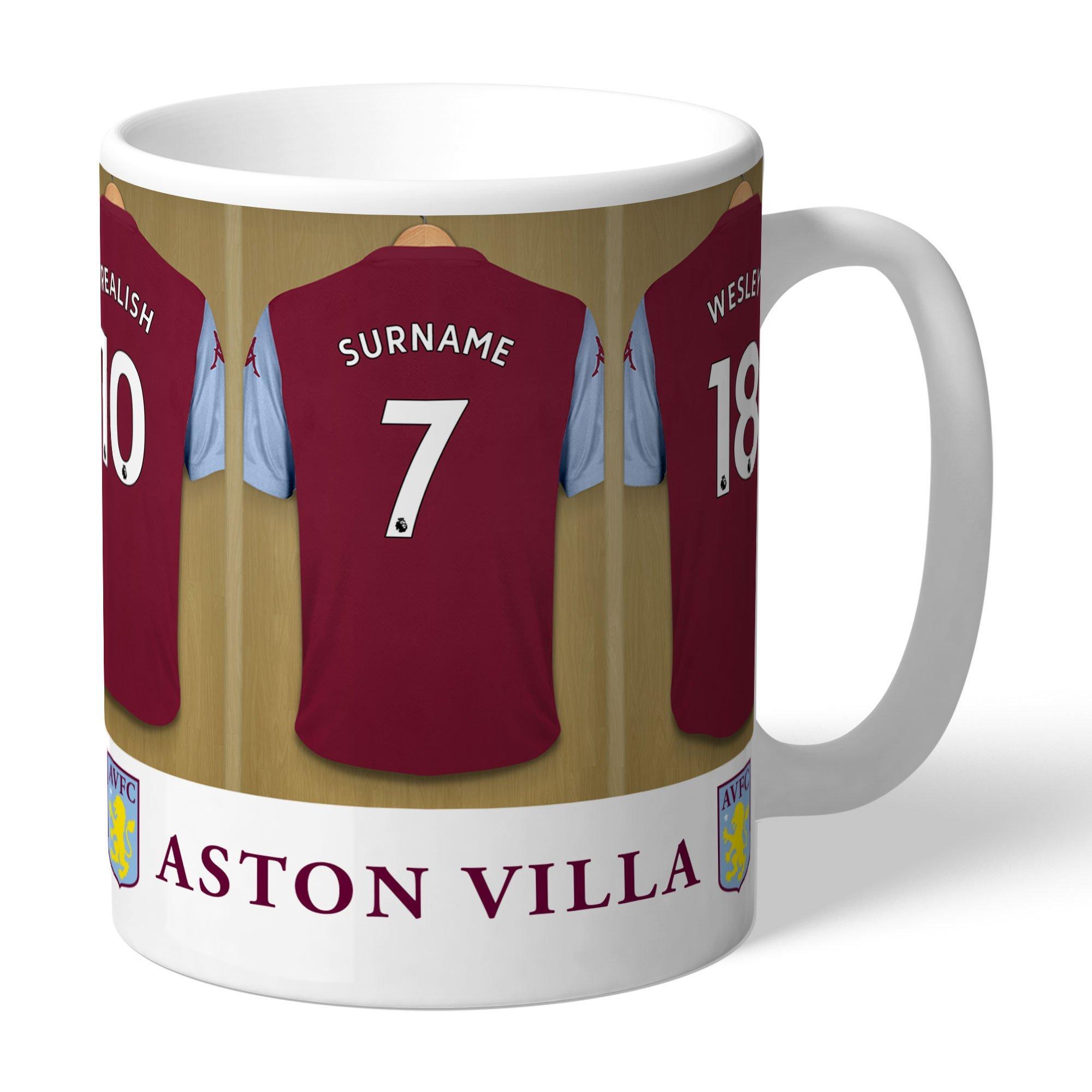 Image of Personalised Aston Villa FC Mug