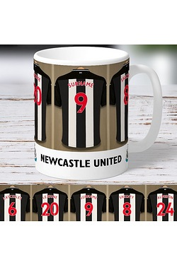 Personalised Newcastle United FC Mug