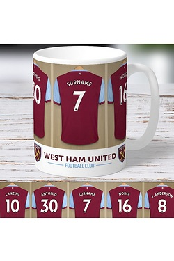 Personalised West Ham United Mug