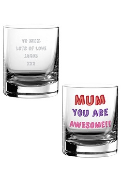 Personalised Mum You Are…Glass Tumbler