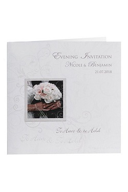 Personalised To Have And To Hold Evening Invitations