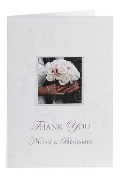 Personalised To Have And To Hold Thank You Cards