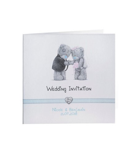 personalised me to you wedding invitations studio