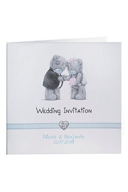 Personalised Me to You Wedding Invitations