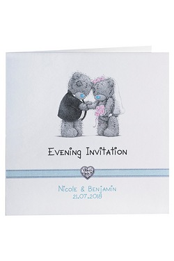 Personalised Me to You Evening Invitations