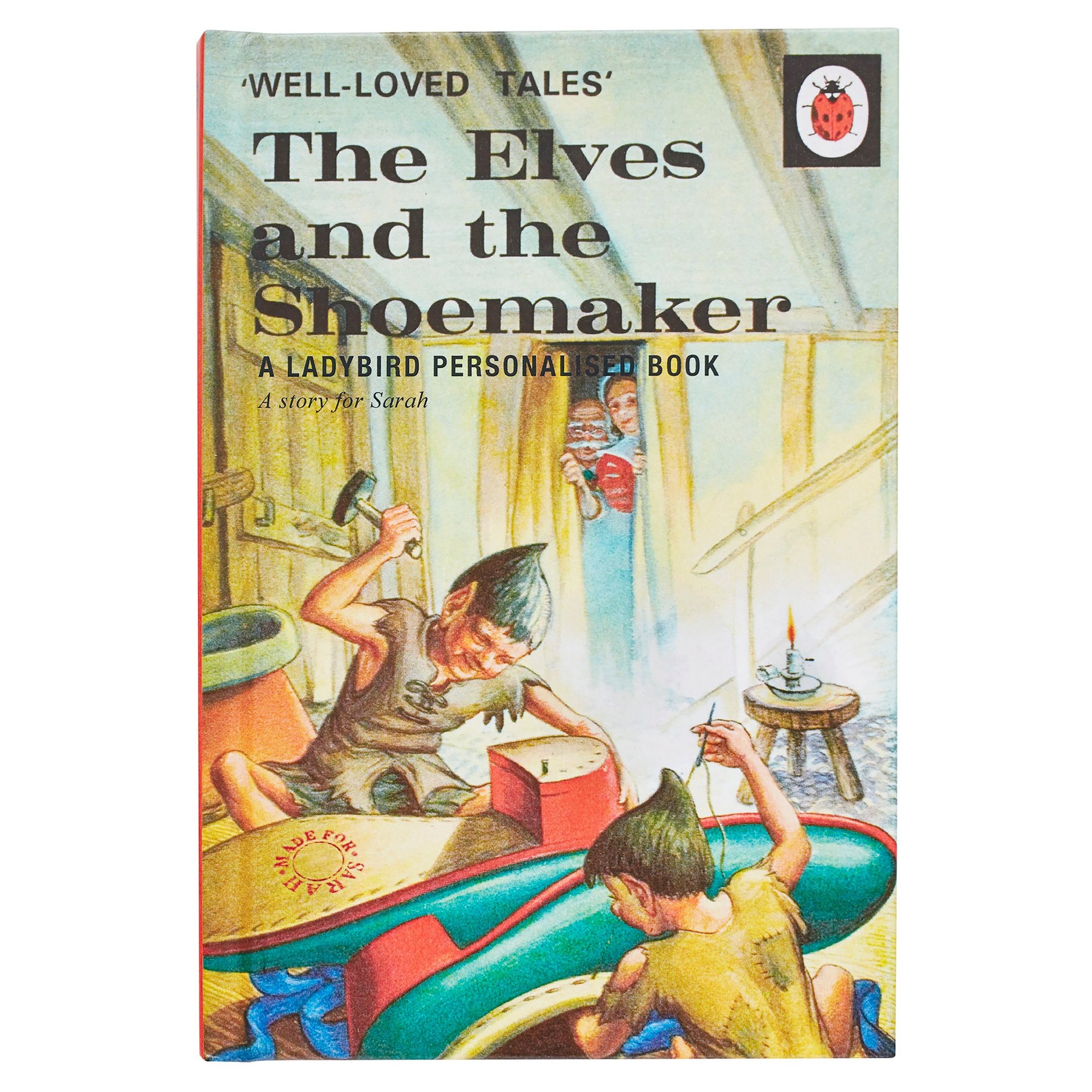 Image of Personalised Ladybird Book: The Elves and the Shoemaker