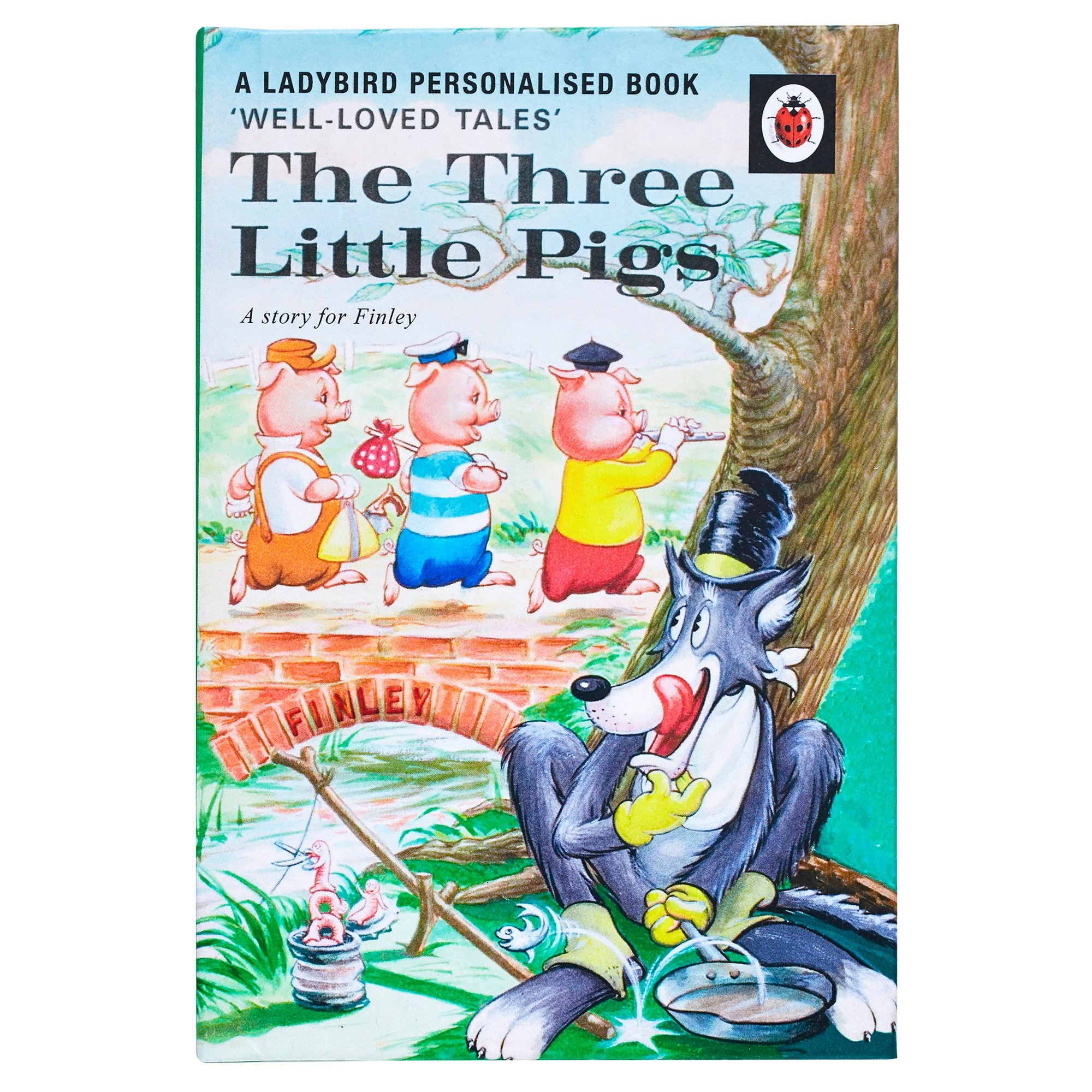 Image of Personalised Ladybird Book: The Three Little Pigs