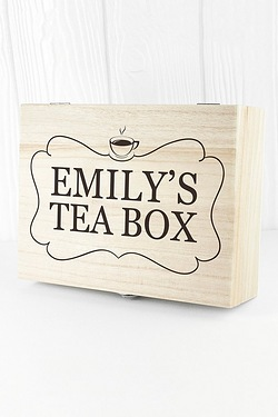 Personalised Christmas Tea Box