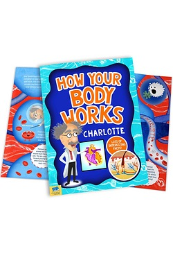 Personalised Book - How Your Body Works