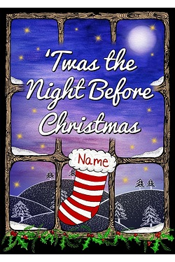 Personalised Book - Twas the Night Before Christmas