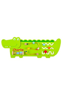 Personalised Crocodile Wall Toy