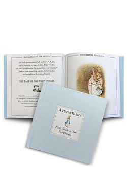 Peter Rabbits Personalised Little Guide To Life Book