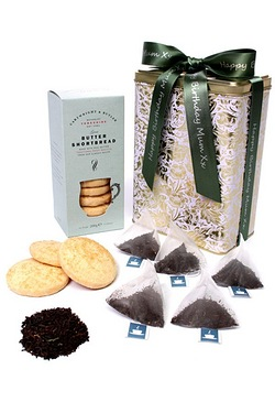 Personalised English Breakfast Tea and Shortbread