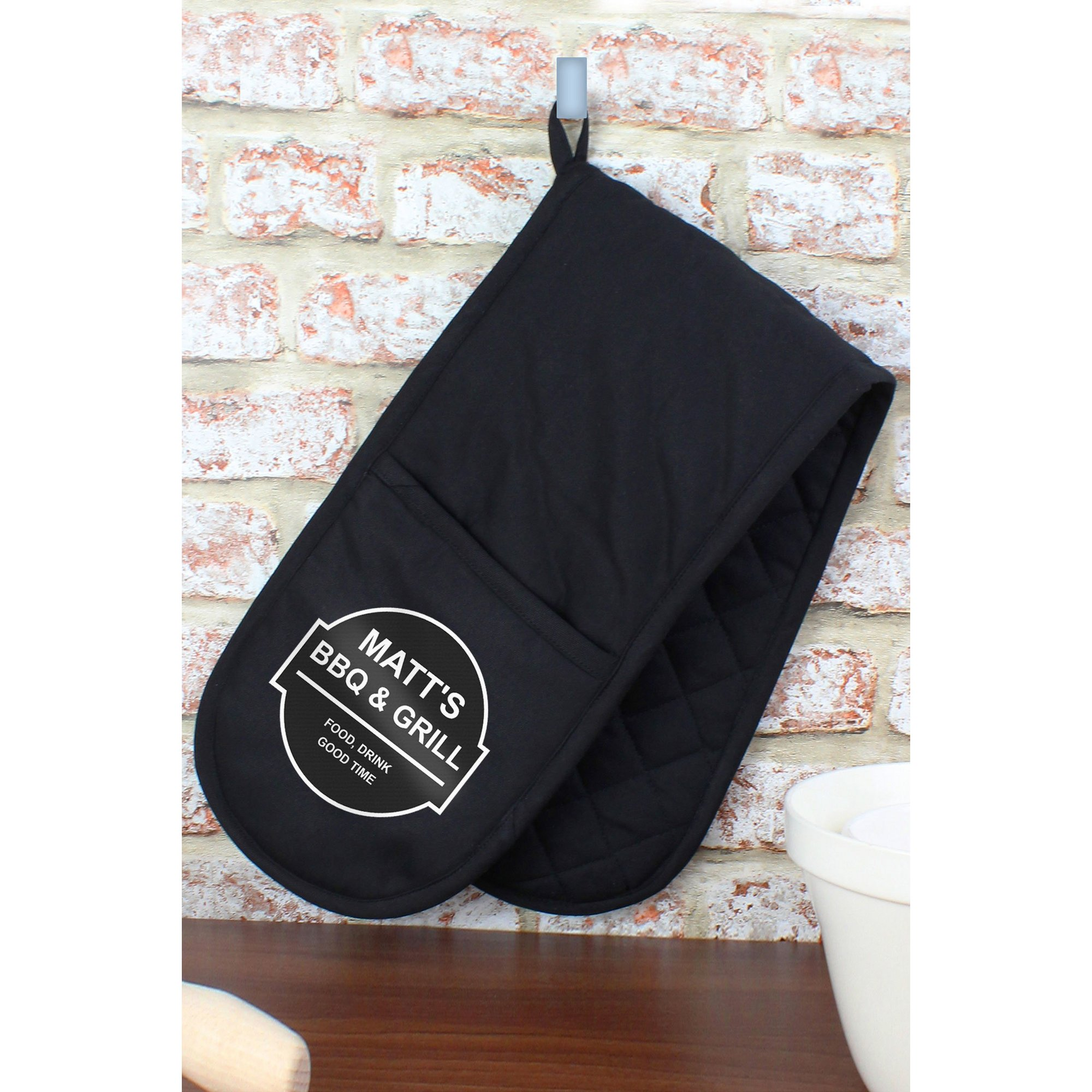 Image of Personalised BBQ and Grill Oven Gloves