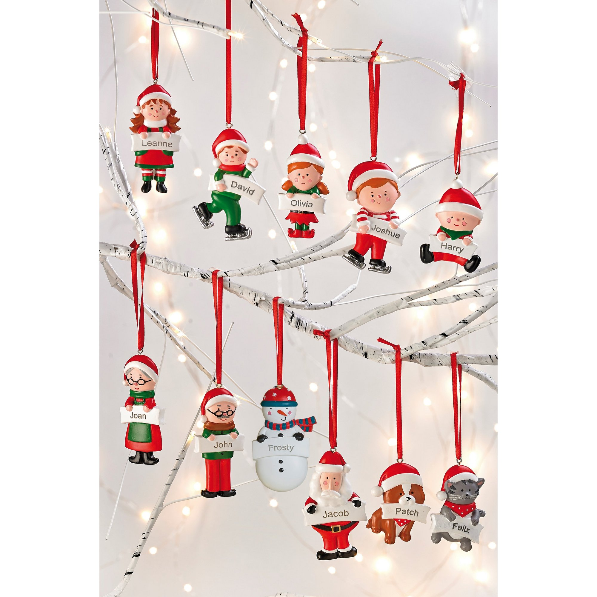 Image of Personalised Christmas Decorations