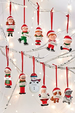 Personalised Xmas Decoration - Children