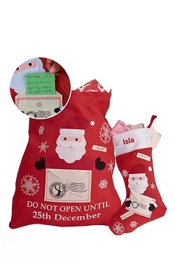 Letter To Santa and Personalised Stocking