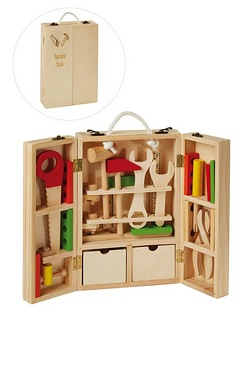 Personalised Wooden Tool Set