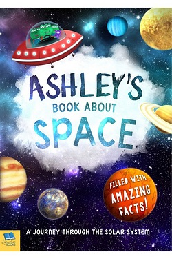 Personalised My Book About Space - Hardback
