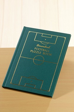 Personalised Football Puzzle Book