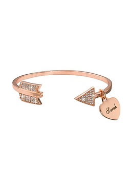 Personalised Arrow Bangle