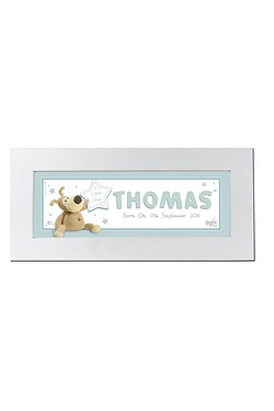Personalised Boofle Its a Boy Name Frame