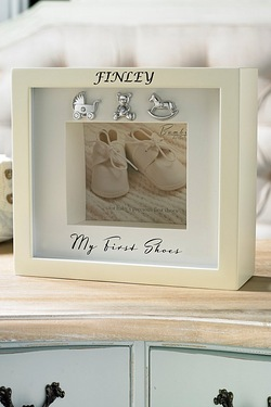 Personalised My First Shoe Box