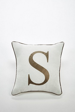 Personalised Initial Cushion Cover