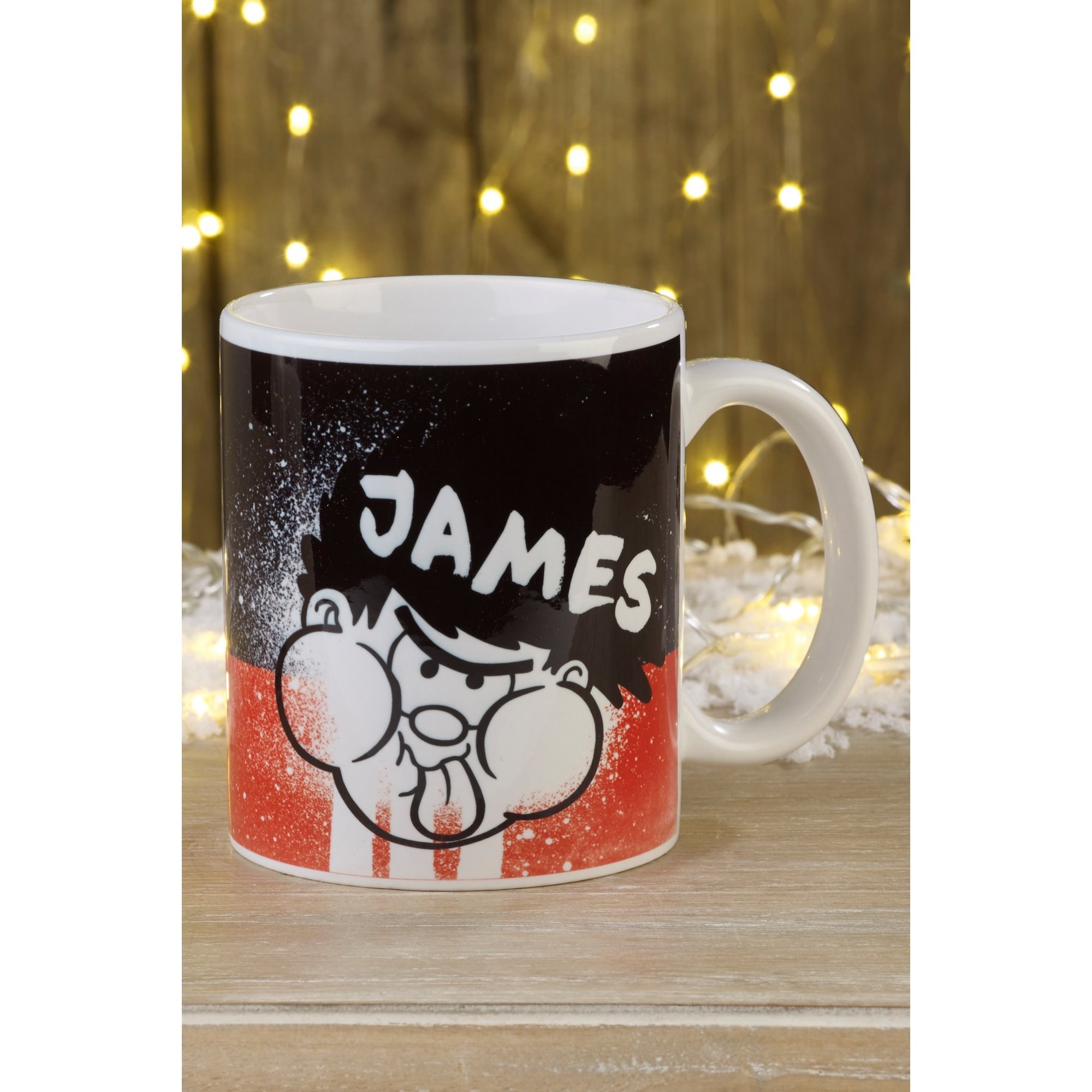 Image of Personalised Beano Mug - Dennis The Menace