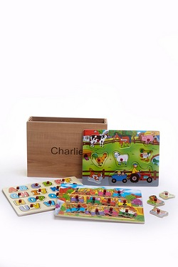 Personalised Wooden Puzzles - Farm