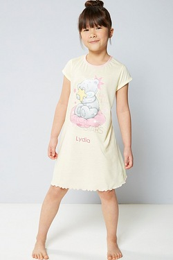 Girls Personalised Tatty Teddy Nightie