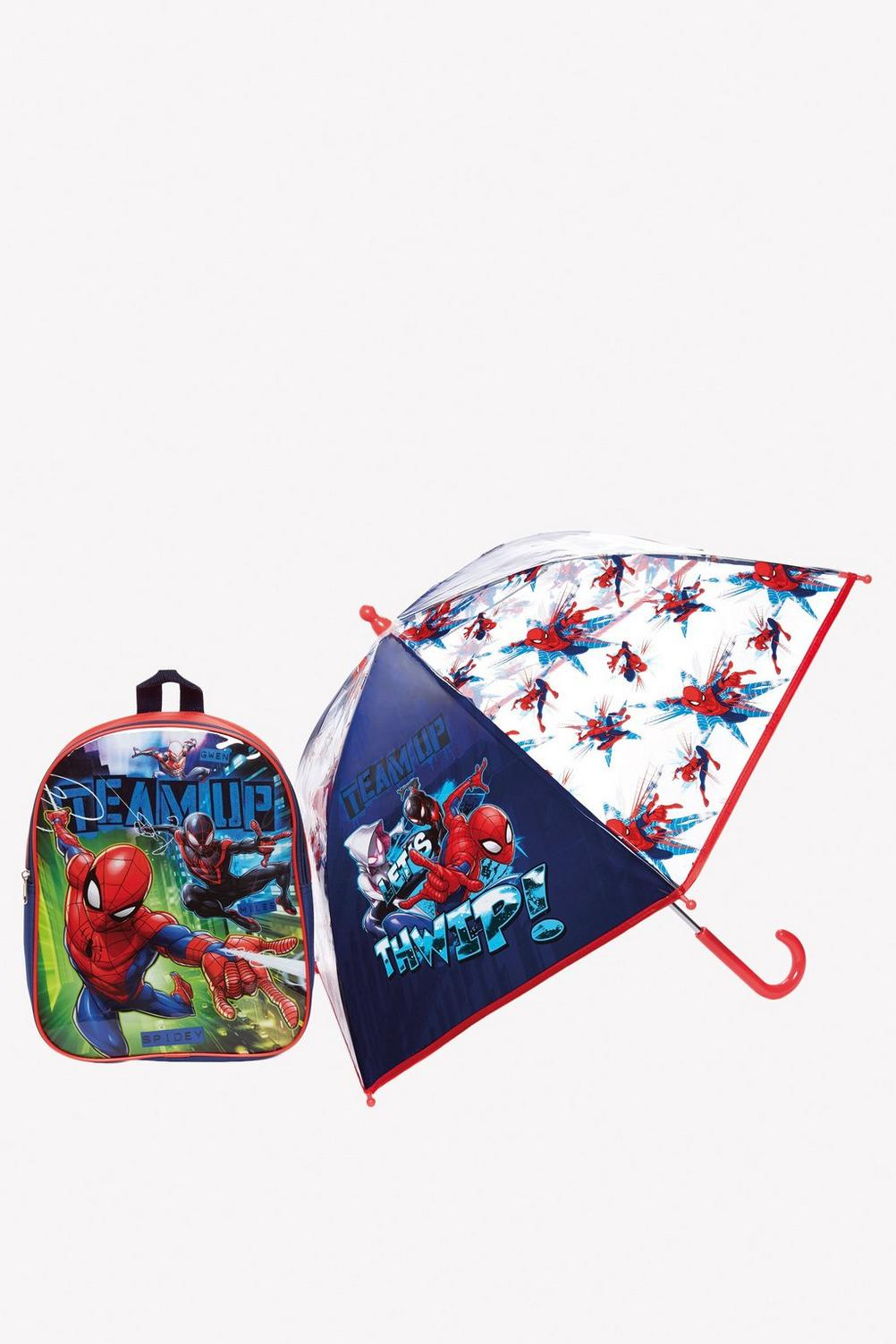 Personalised Spider-Man Backpack and Umbrella Set | Studio