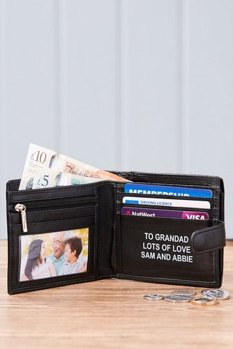 8af530677dc4 Image for Mens Personalised Wallet from studio