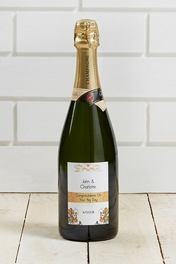 Personalised Georges Lacombe Champagne Bottle