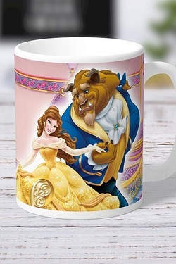 Personalised Beauty and The Beast Mug