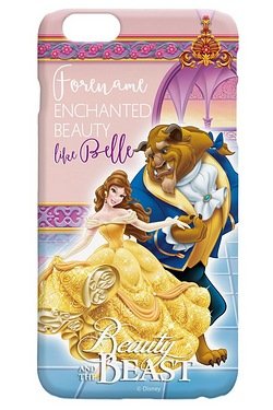Personalised Beauty and The Beast iPhone 6 case