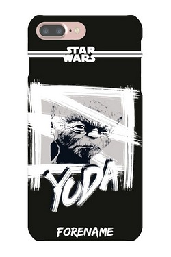Personalised Yoda Paint iPhone 6/6S Case