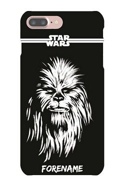 Personalised Chewbacca Paint iPhone 7 Case