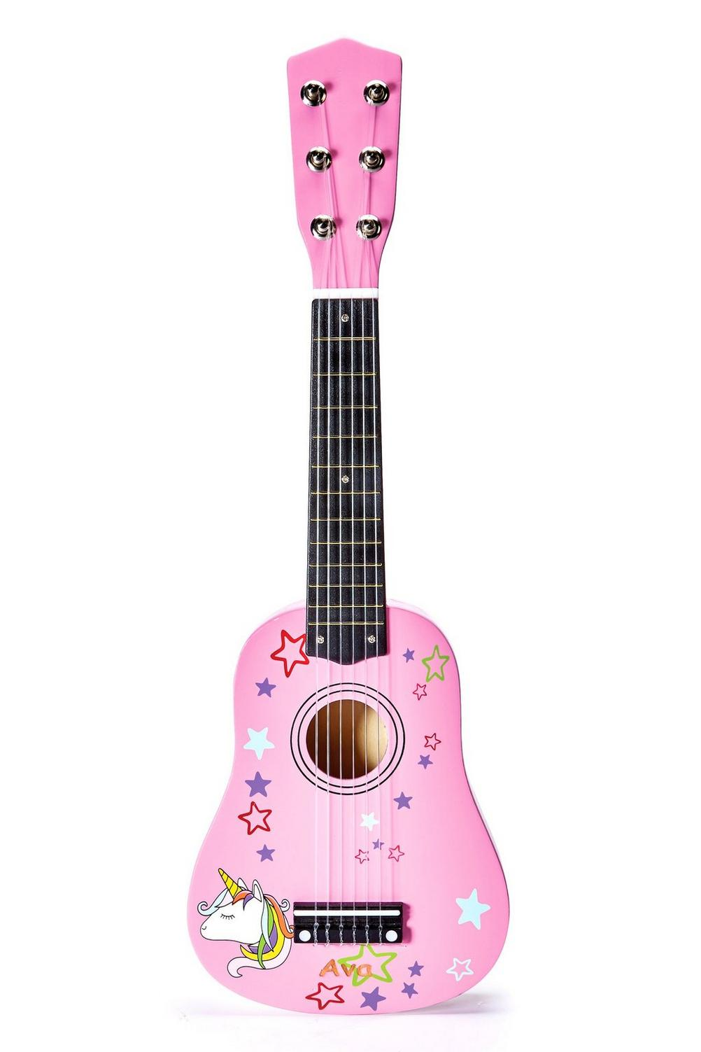 Image for Personalised Unicorn Kids Guitar from studio